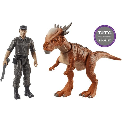 Jurassic World Story Pack - Stygimoloch Stiggy and Mercenary Figure