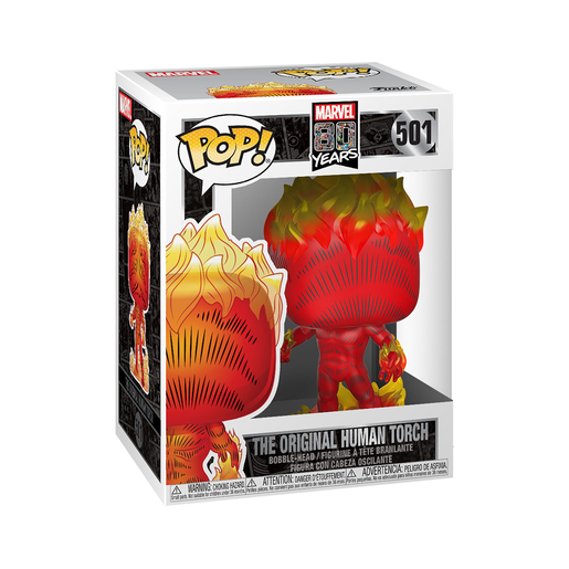 Funko Pop! Marvel: 80th Anniversary - The Original Human Torch Bobble Head