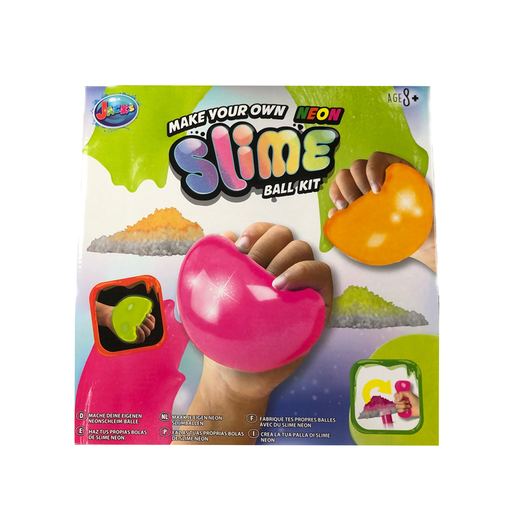 Jack's Make Your Own Neon Slime Ball Kit