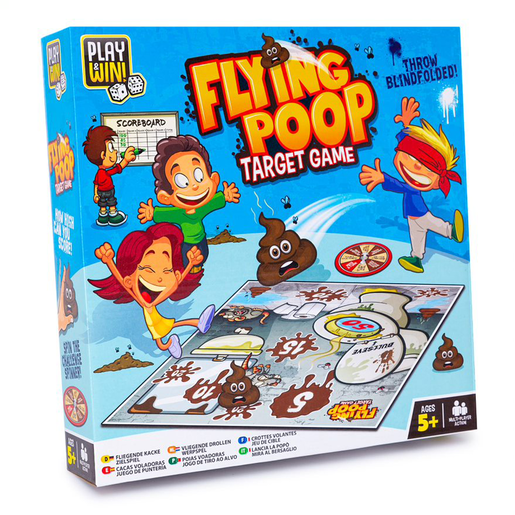 Play and Win Flying Poo Game