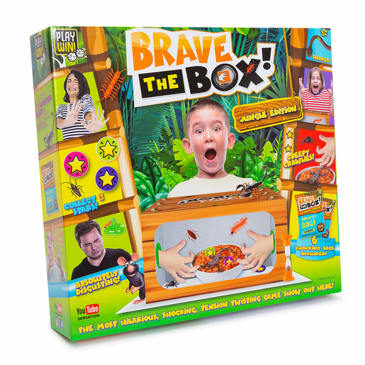 Play & Win Brave The Box Game