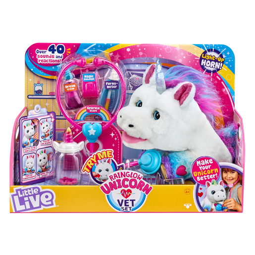 Little Live Pets Rainglow Unicorn Vet Kit