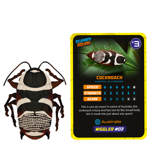 Swarm Squad Hyper-Real Bug Action - Wiggler