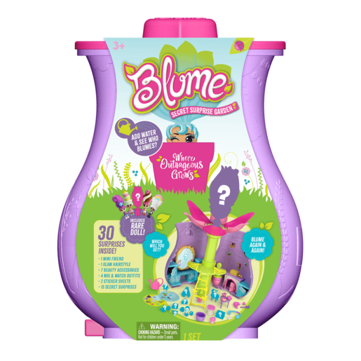 Blume Secret Surprise Garden Playset