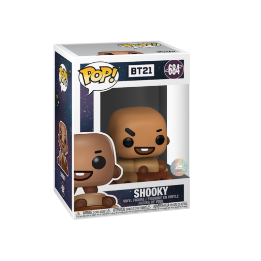 Funko Pop! Rocks: BT21 - Shooky