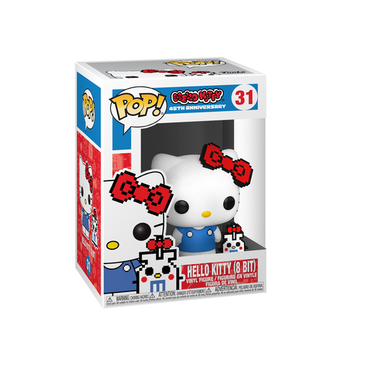 Funko Pop! Animation: Hello Kitty (8 Bit) 45th Anniversary