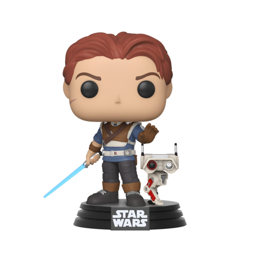 Funko Pop! Games: Star Wars Jedi Fallen Order - Cal Kestis and BD-1