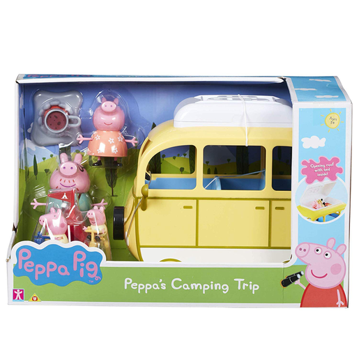 Peppa Pig - Peppas Camping Trip Playset