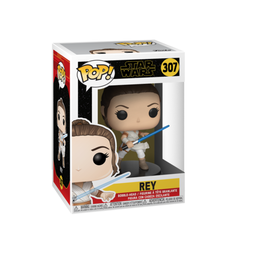 Funko Pop! Movies: Star Wars The Rise of Skywalker - Rey Bobble-Head