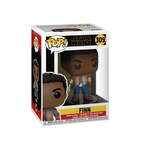 Funko Pop! Movies: Star Wars The Rise of Skywalker - Finn Bobble-Head