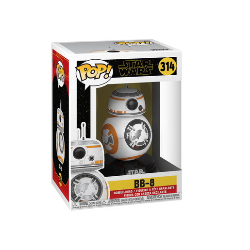 Funko Pop! Movies: Star Wars The Rise of Skywalker - BB-8 Bobble-Head