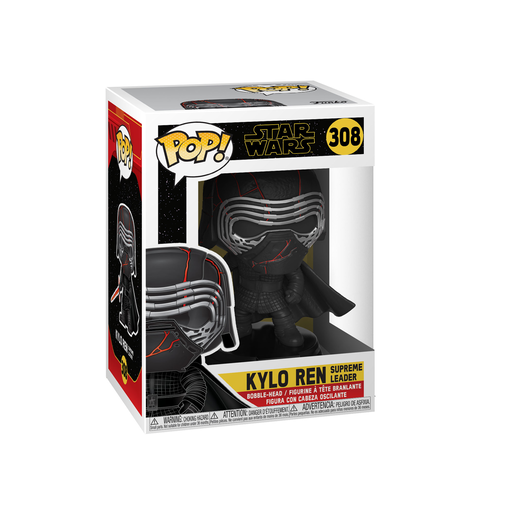 Funko Pop! Movies: Star Wars The Rise of Skywalker - Kylo Ren Supreme Leader Bobble-Head