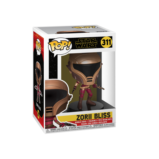 Funko Pop! Movies: Star Wars The Rise of Skywalker - Zorii Bliss Bobble-Head
