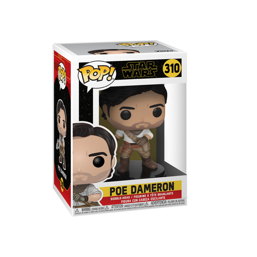 Funko Pop! Movies: Star Wars The Rise of Skywalker - Poe Dameron Bobble-Head