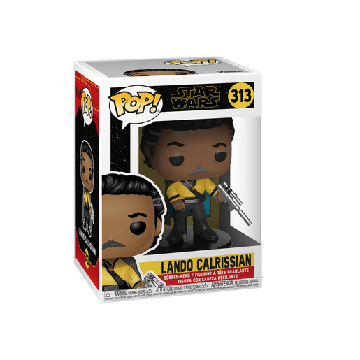 Funko Pop! Movies: Star Wars The Rise of Skywalker - Lando Calrissian Bobble-Head