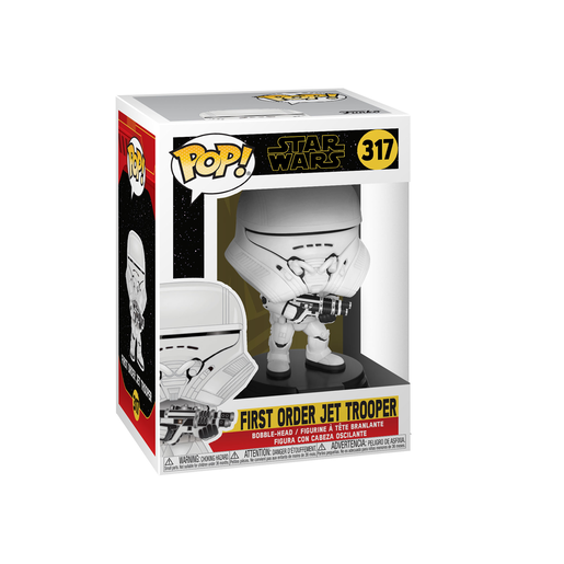 Funko Pop! Movies: Star Wars The Rise of Skywalker - First Order Jet Trooper Bobble-Head