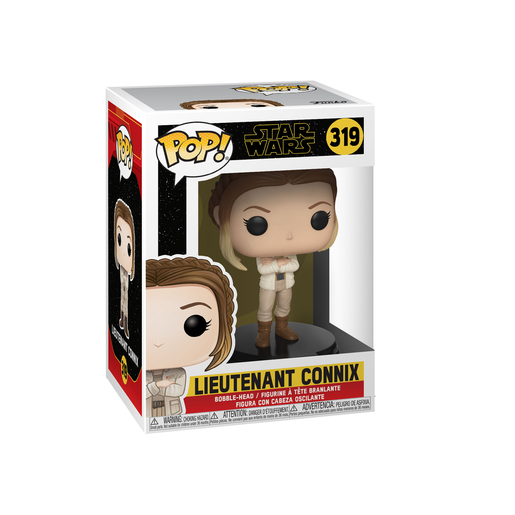 Funko Pop! Movies: Star Wars The Rise of Skywalker - Lieutenant Connix Bobble-Head