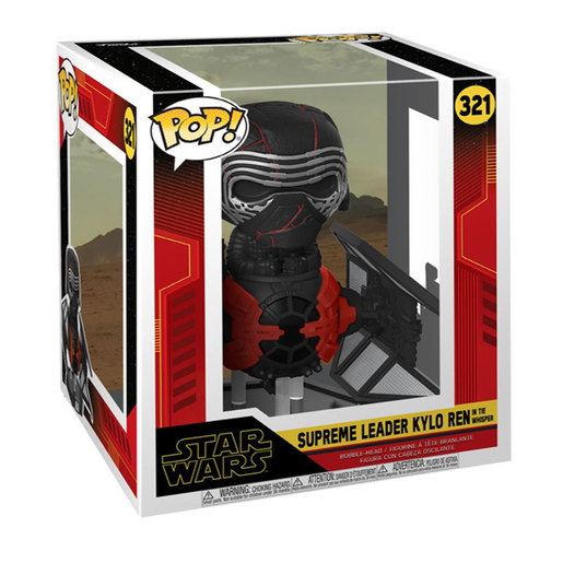 Funko Pop! Movies: Star Wars The Rise of Skywalker - Supreme Leader Kylo Ren In The Whisper