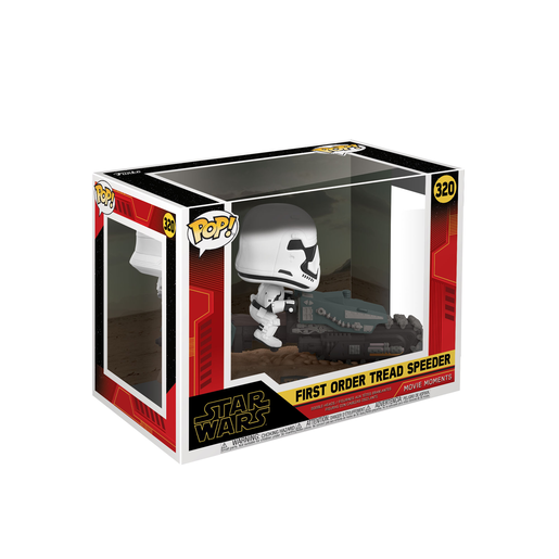 Funko Pop! Movies: Star Wars The Rise of Skywalker - First Order Tread Speeder Bobble-Head