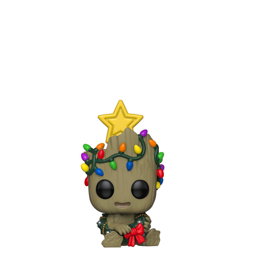 Funko Pop! Marvel: Groot Christmas Bobble-Head