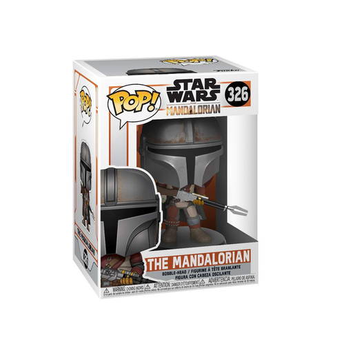 Funko Pop! Star Wars: The Mandalorian - The Mandalorian Bobble-Head