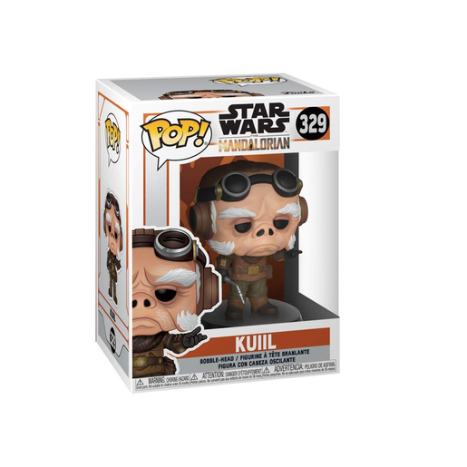 Funko Pop! Star Wars: The Mandalorian - Kuiil Bobble-Head