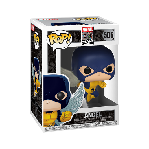Funko Pop! Marvel: 80th Anniversary - Angel Bobble-Head