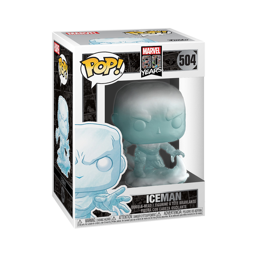 Funko Pop! Marvel: 80th Anniversary - Iceman Bobble-Head