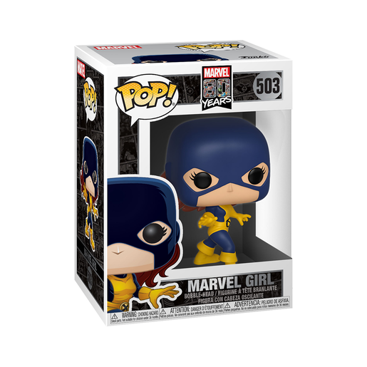 Funko Pop! Marvel: 80th Anniversary - Marvel Girl Bobble-Head