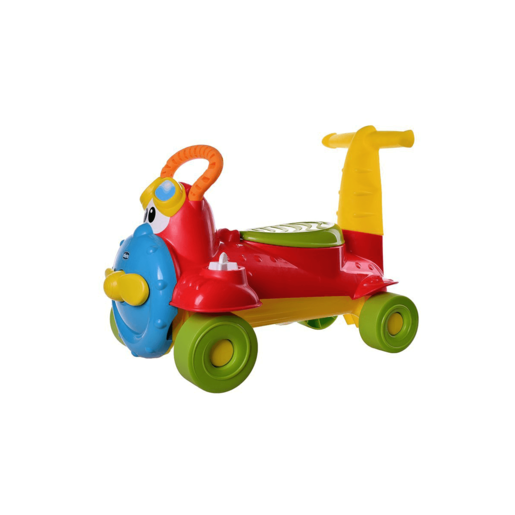Chicco 2-in-1 Sit and Ride Airplane - Charlie