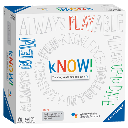 Ravensburger kNOW! Quiz Game