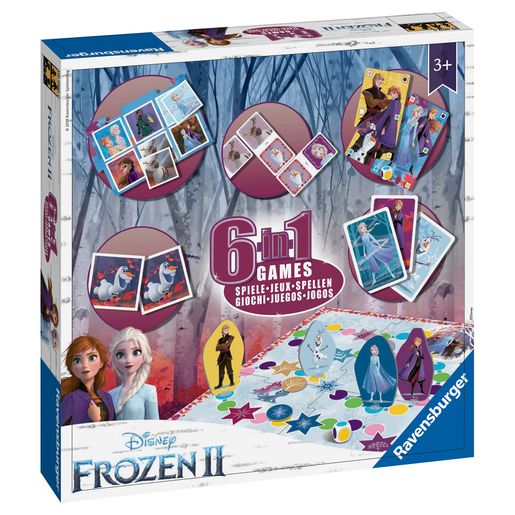 Ravensburger Disney Frozen 2 6-in-1 Games
