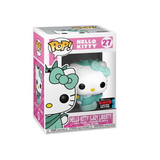 Funko Pop! Animation: Hello Kitty - Hello Kitty Lady Liberty (UK Exclusive)