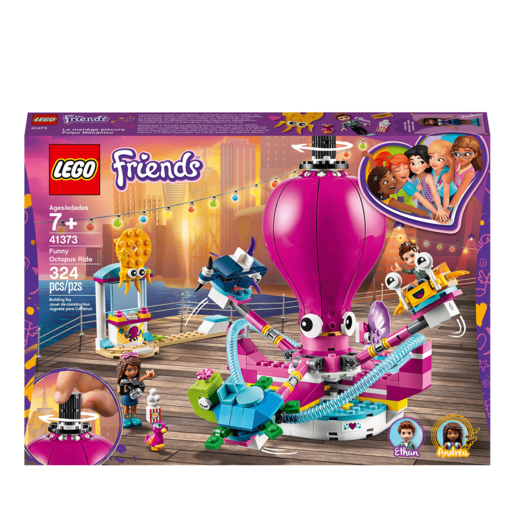 LEGO Friends Funny Octopus Ride - 41373