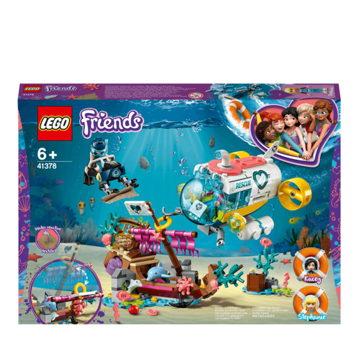 LEGO Friends Dolphins Rescue Mission Boat - 41378