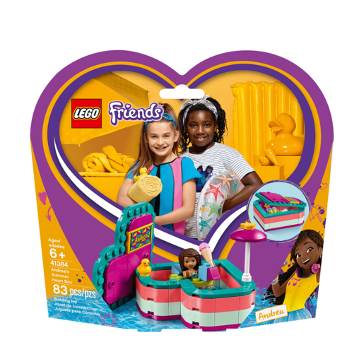 LEGO Friends Andrea's Summer Heart Box - 41384