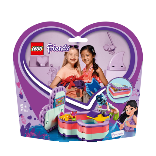 LEGO Friends Emma's Summer Heart Box - 41385