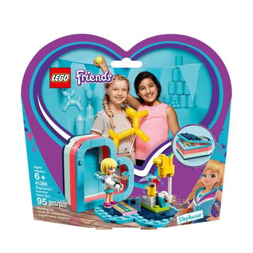 LEGO Friends Stephanie's Summer Heart Box - 41386