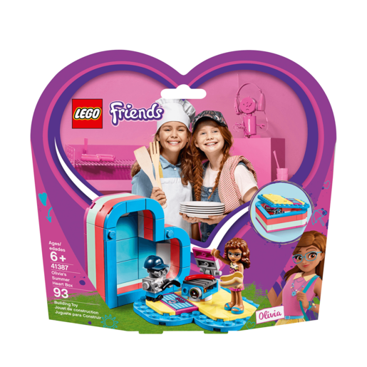 LEGO Friends Olivia's Summer Heart Box - 41387
