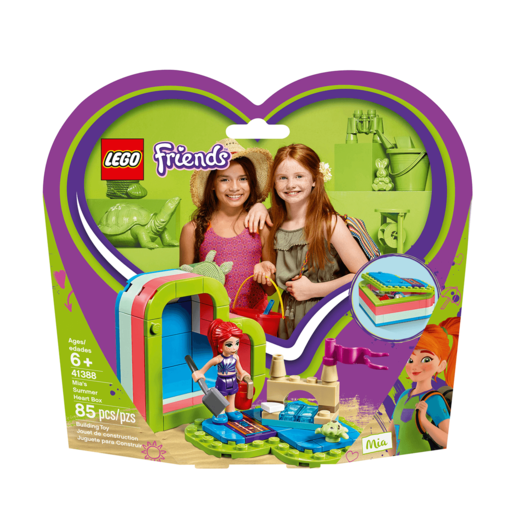 LEGO Friends Mia's Summer Heart Box - 41388