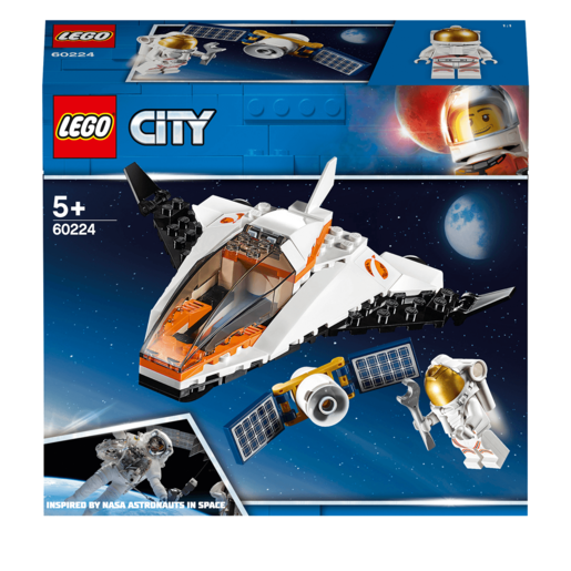 LEGO City Satellite Service Mission Mini Space Shuttle - 60224