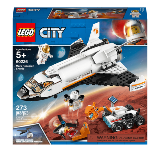 LEGO City Mars Research Shuttle Spaceship Construction - 60226