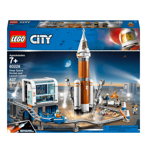 LEGO City Deep Space Rocket and Launch Control - 60228
