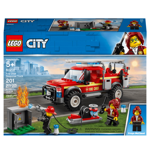 LEGO City Town Fire Chief Response Truck - 60231