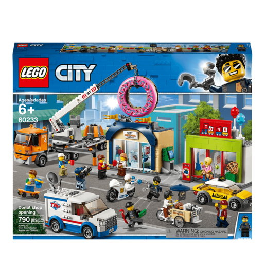 LEGO City Town Donut Shop Opening - 60233