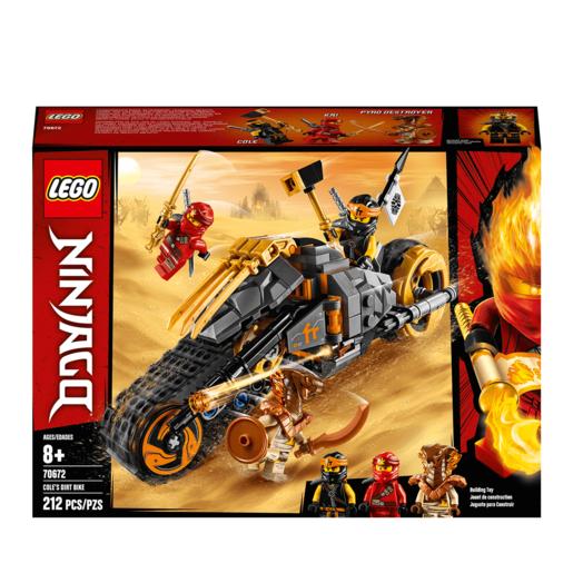LEGO Ninjago Cole's Dirt Ninja Motorbike - 70672