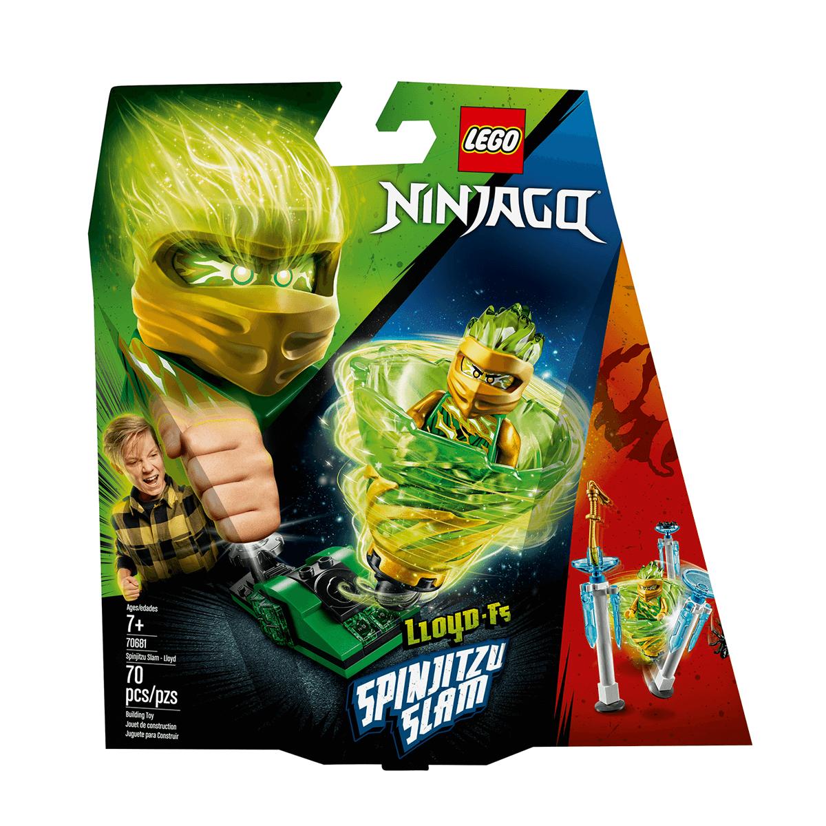 new images of autumn shoes new high quality LEGO Ninjago Spinjitzu Slam - Lloyd - 70681