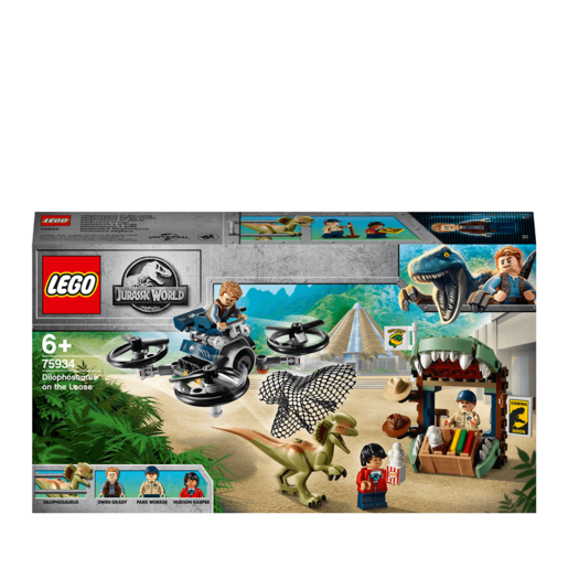 LEGO Jurassic World Dilophosaurus on the Loose - 75934
