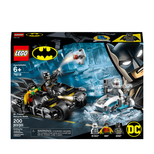 LEGO DC Batman Mr. Freeze Batcycle Battle - 76118