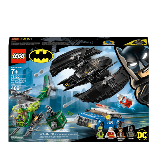 LEGO DC Batman: Batman, Batwing and The Riddler Heist - 76120